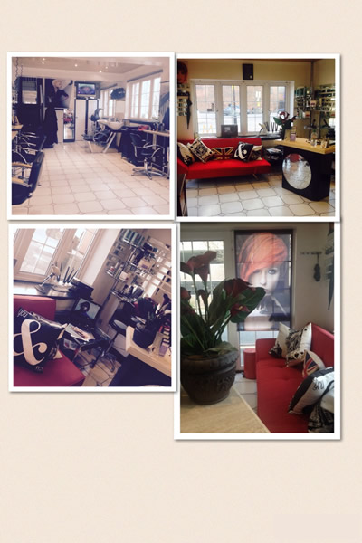 Views inside of Rinaldi Hair and beauty Salon